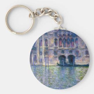 Claude Monet Venice Key Ring