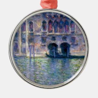 Claude Monet Venice Silver-Colored Round Decoration