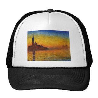 Claude Monet // Venice Twilight Mesh Hat