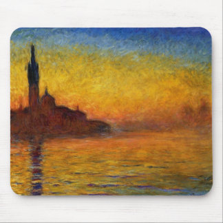 Claude Monet // Venice Twilight Mousepads