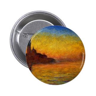 Claude Monet Venice Twilight Pins