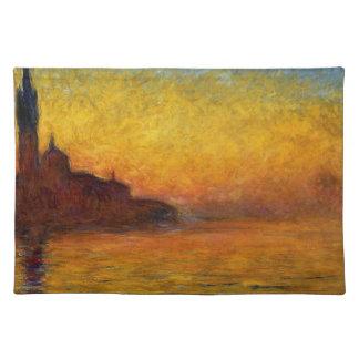 Claude Monet // Venice Twilight Place Mat
