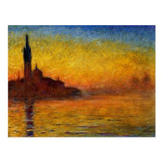 Claude Monet Venice Twilight Post Card