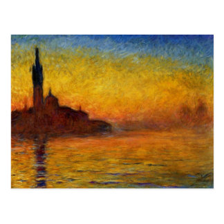 Claude Monet // Venice Twilight Postcard