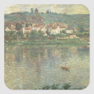 Claude Monet | Vetheuil, 1901 Square Sticker