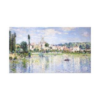 Claude Monet Vétheuil in Summer Canvas Print