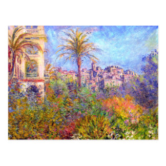 Claude Monet: Villas at Bordighera Postcard
