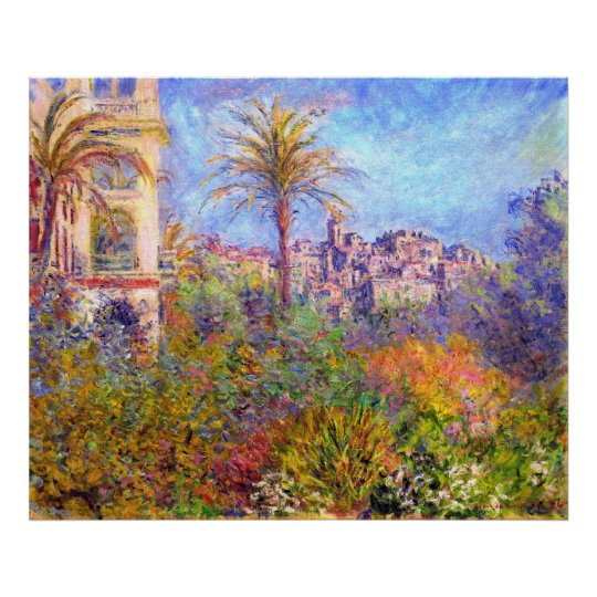 Claude Monet: Villas at Bordighera Poster