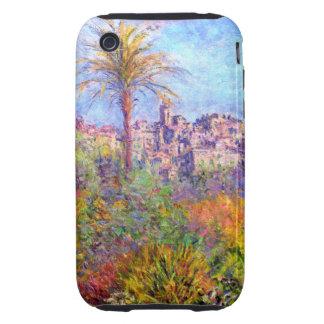 Claude Monet: Villas at Bordighera Tough iPhone 3 Covers