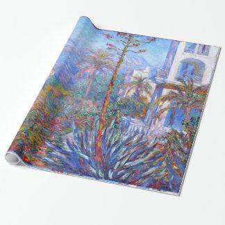 Claude Monet: Villas at Bordighera Wrapping Paper