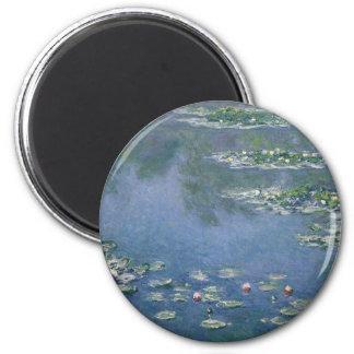 Claude Monet - Water Lilies - 1906 Ryerson Magnet