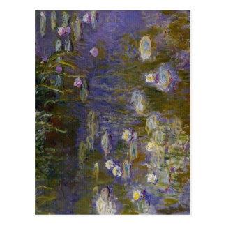 Claude Monet Water-Lilies 1914-1917 Technique Oil Postcards