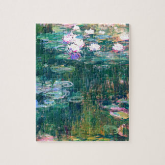 Claude Monet Water Lilies 1917 Jigsaw Puzzle