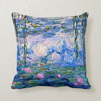 Claude Monet - Water Lilies, 1919 Cushion