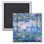 Claude Monet - Water Lilies, 1919 Fridge Magnet