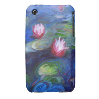 Claude Monet: Water Lilies 2 iPhone 3 Cases