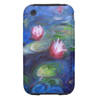 Claude Monet: Water Lilies 2 Tough iPhone 3 Covers