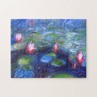 Claude Monet: Water Lilies 2 Jigsaw Puzzle
