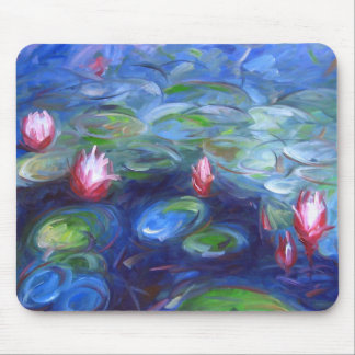 Claude Monet: Water Lilies 2 Mouse Pad