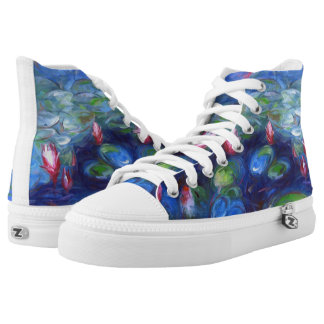 Claude Monet: Water Lilies 2 Printed Shoes