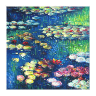 Claude Monet: Water Lilies 3 Gallery Wrapped Canvas
