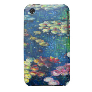 Claude Monet: Water Lilies 3 iPhone 3 Case-Mate Case