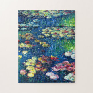 Claude Monet: Water Lilies 3 Jigsaw Puzzle