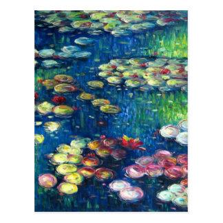 Claude Monet: Water Lilies 3 Postcard