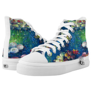 Claude Monet: Water Lilies 3 Printed Shoes