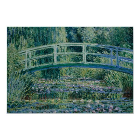 Claude Monet - Water Lilies and Japanese Bridge