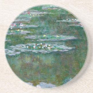 Claude Monet // Water Lilies Beverage Coasters