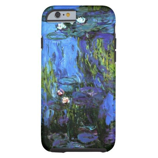 Claude Monet: Water-Lilies, blue indigo Tough iPhone 6