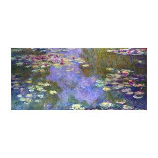 Claude Monet Water Lilies Canvas Print
