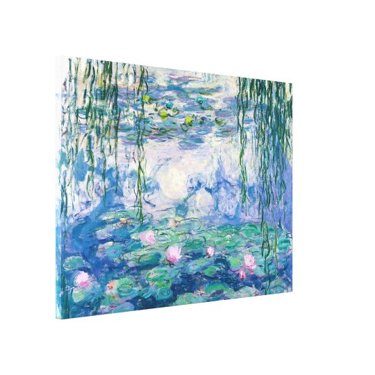 CLAUDE MONET -Water lilies Canvas Print