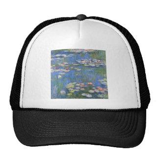 Claude Monet // Water Lilies Mesh Hats