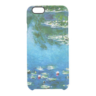 Claude Monet-Water-Lilies Clear iPhone 6/6S Case