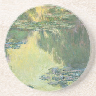Claude Monet Water Lilies French  Impressionism Beverage Coaster