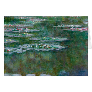 Claude Monet // Water Lilies Greeting Card