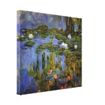 Claude Monet - Water lilies in pond Canvas Prints