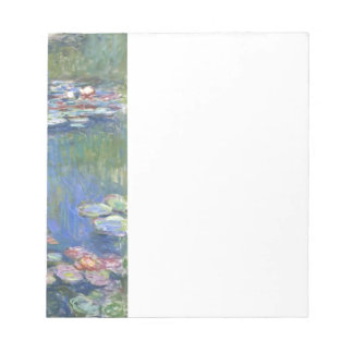 Claude Monet // Water Lilies Notepad