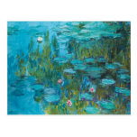 Claude Monet Water Lilies Nympheas GalleryHD Postcard