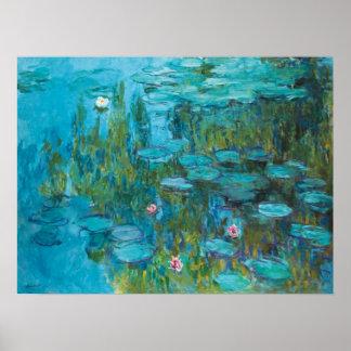 Claude Monet Water Lilies Nympheas GalleryHD Poster