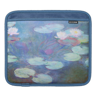 Claude Monet Water Lilies, Pink GalleryHD Sleeve For iPads