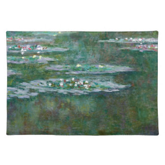 Claude Monet // Water Lilies Place Mats