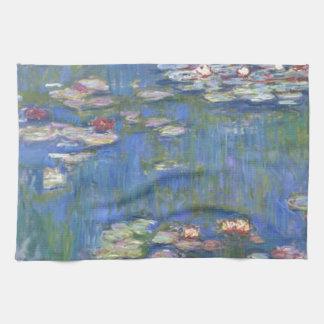 Claude Monet // Water Lilies Tea Towel
