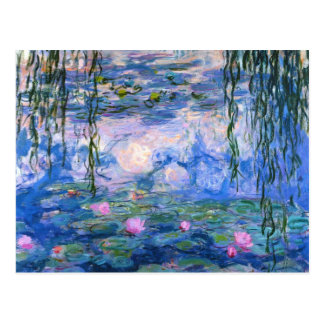 Claude Monet Water Lillies 1919 Postcard