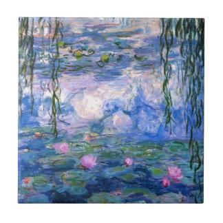Claude Monet Water Lillies 1919 Tile