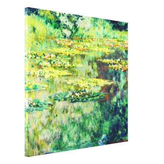 Claude Monet - Water Lillies - Bassin des Nympheas Gallery Wrap Canvas