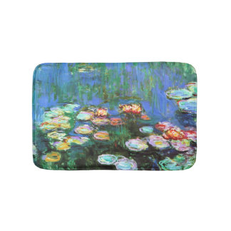 Claude Monet Water Lily Pond Bath Mat