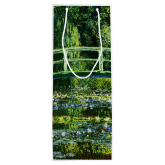 Claude Monet-Water-Lily Pond Wine Gift Bag